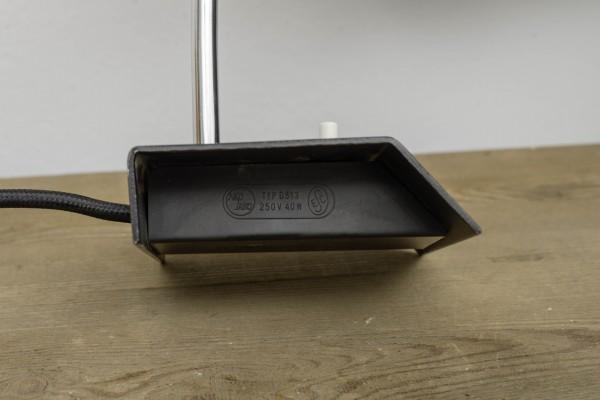 Schwarze Schreibtischlampe | Josef Hurka
