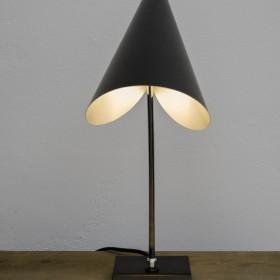 Schwarze Schreibtischlampe