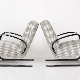 Freischwinger Sessel, 2er Set