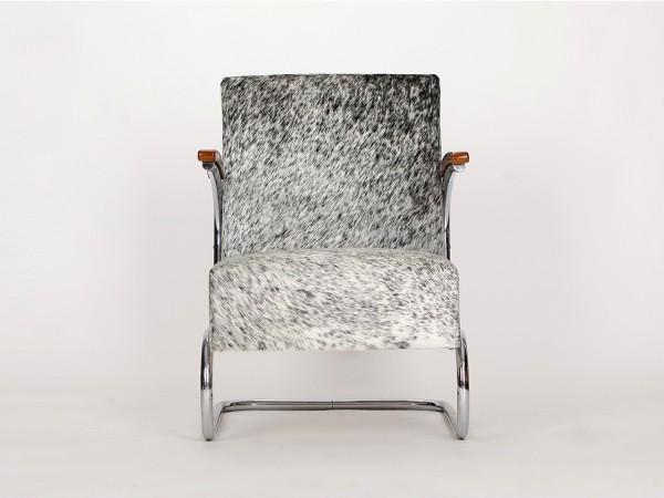 Stahlrohrsessel /Salz&Pfeffer