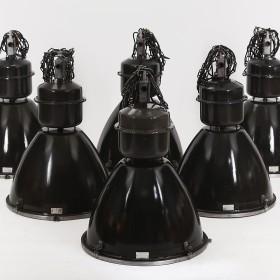 Industrielampen, 6er Set