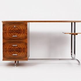 Stahlrohr Schreibtisch H 180