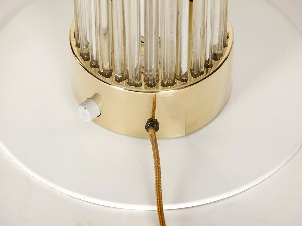 Große Stehlampen, 2er Set | Fa. Preciosa in Steinschönau
