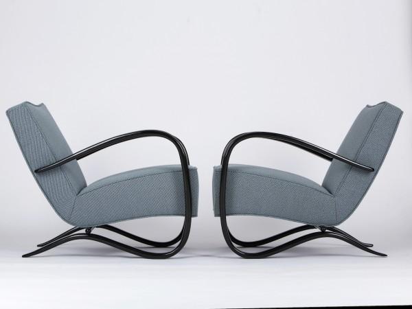 2 Armlehnsessel H – 269 | Jindrich Halabala