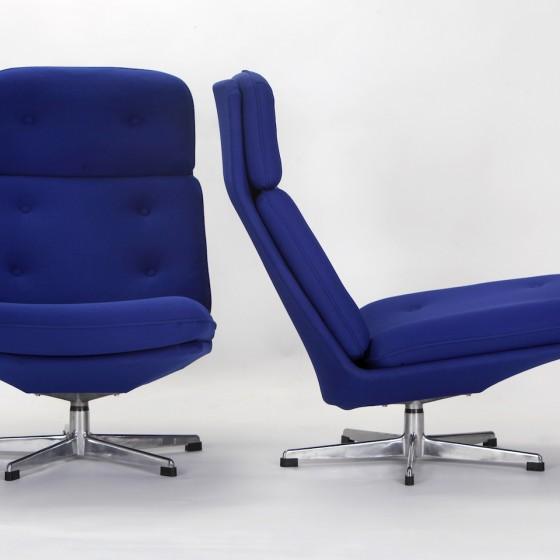 Drehbare Sessel, 2er Set
