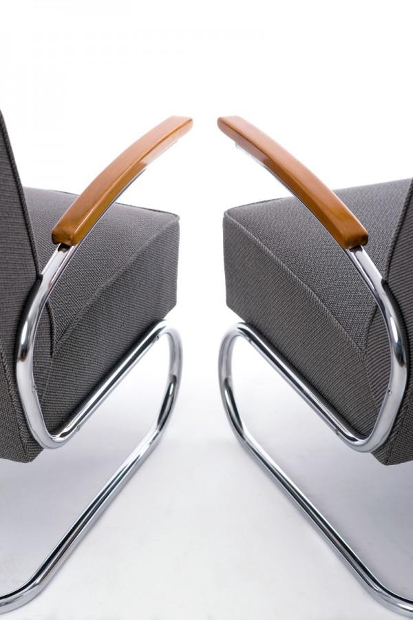 2 Stahlrohrsessel | Werksentwurf