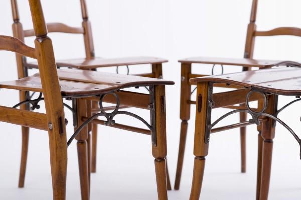 Gasthausstühle, 4er Set | Fa. Jadrnicek