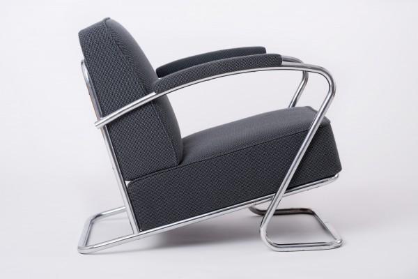 2 Stahlrohr Sessel um 1930