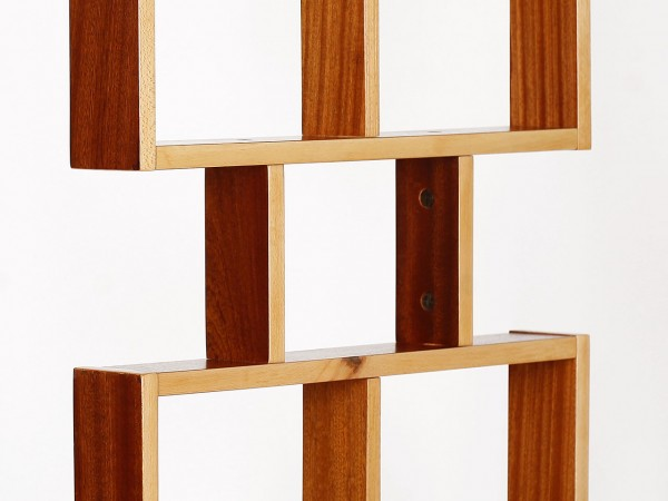 Raumteiler Mahagoni, 2er Set | Ludvik Volak