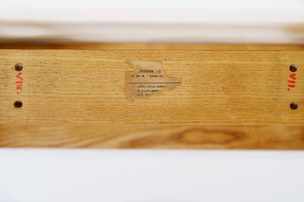Raumteiler Esche / rund | Ludvik Volak