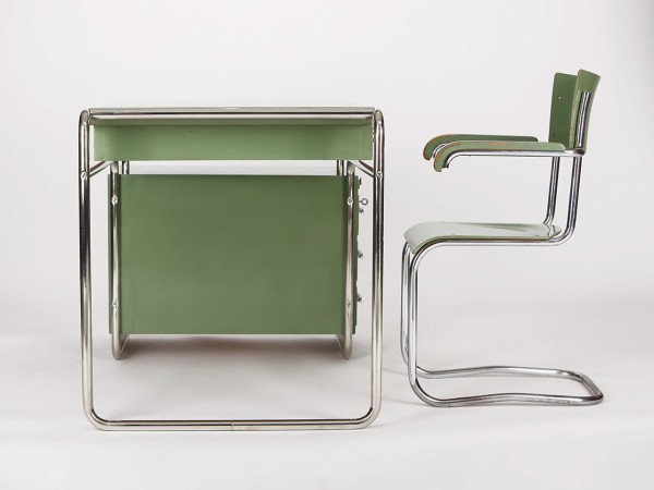 Stahlrohrschreibtisch Set | Antonin Samal
