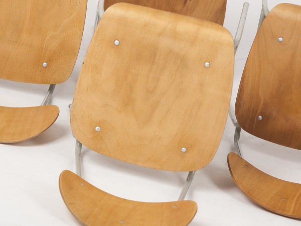 6 Stühle von 66 | Jiri Petrivy