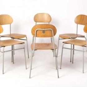 6 Stühle von 66