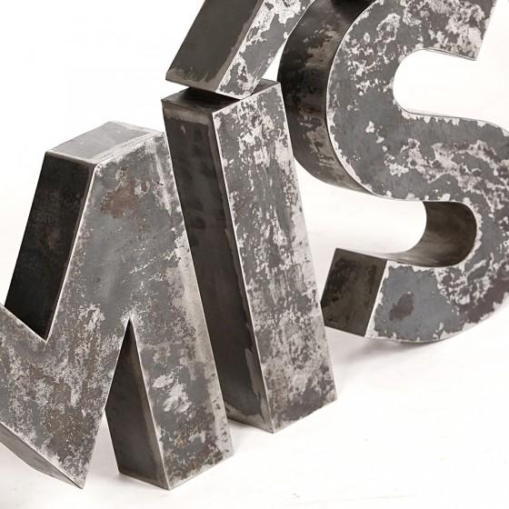 Buchstaben Reklame