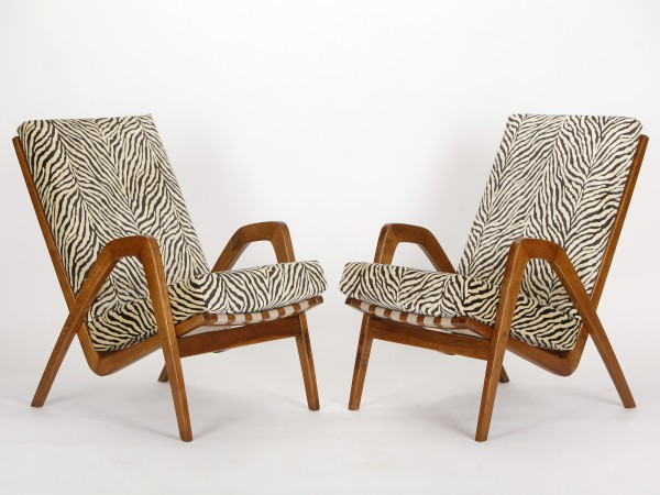 Mid Century Sessel, 2er Set | Jan Vanek
