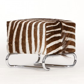 Hocker Zebrafell