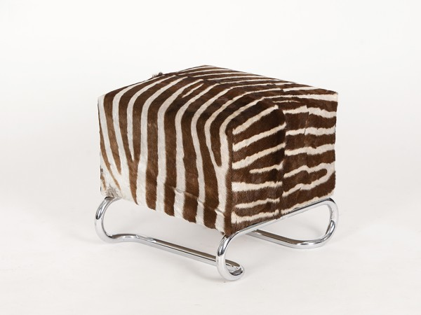 Hocker Zebrafell